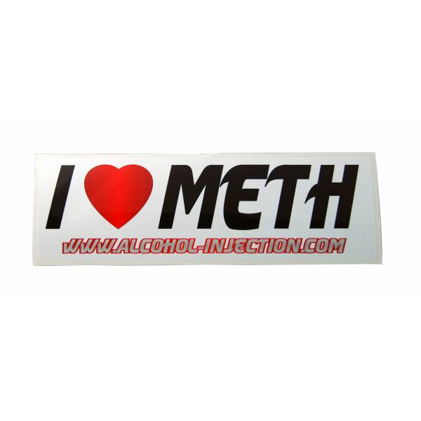 I love meth sticker